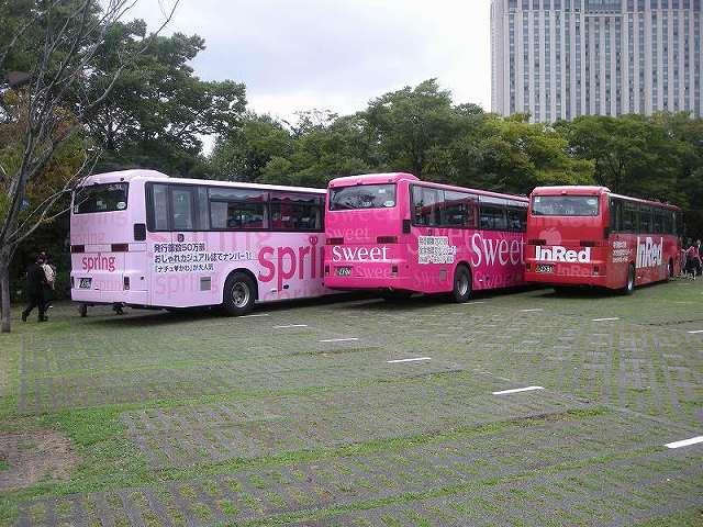 バスラッピング 貸切バス